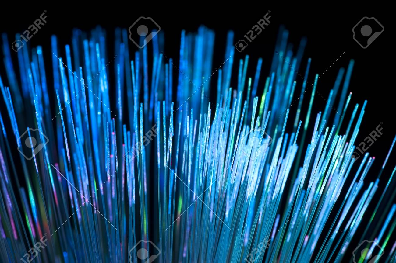 Abstract Internet technology fiber optic background Stock Photo - 10396426