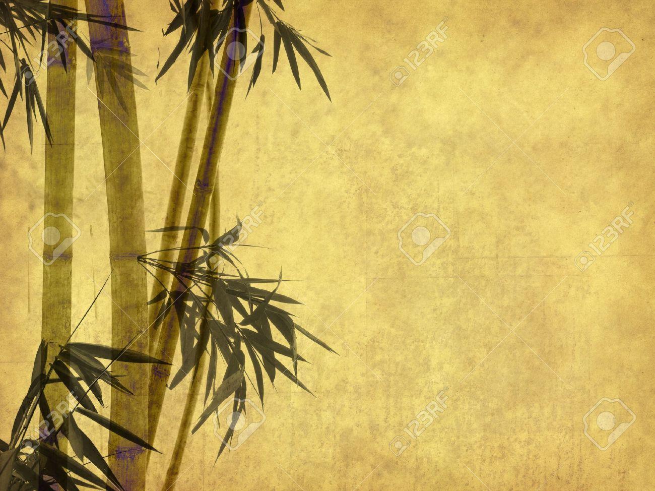 Bamboo Paper Texture Antique Paper Texture