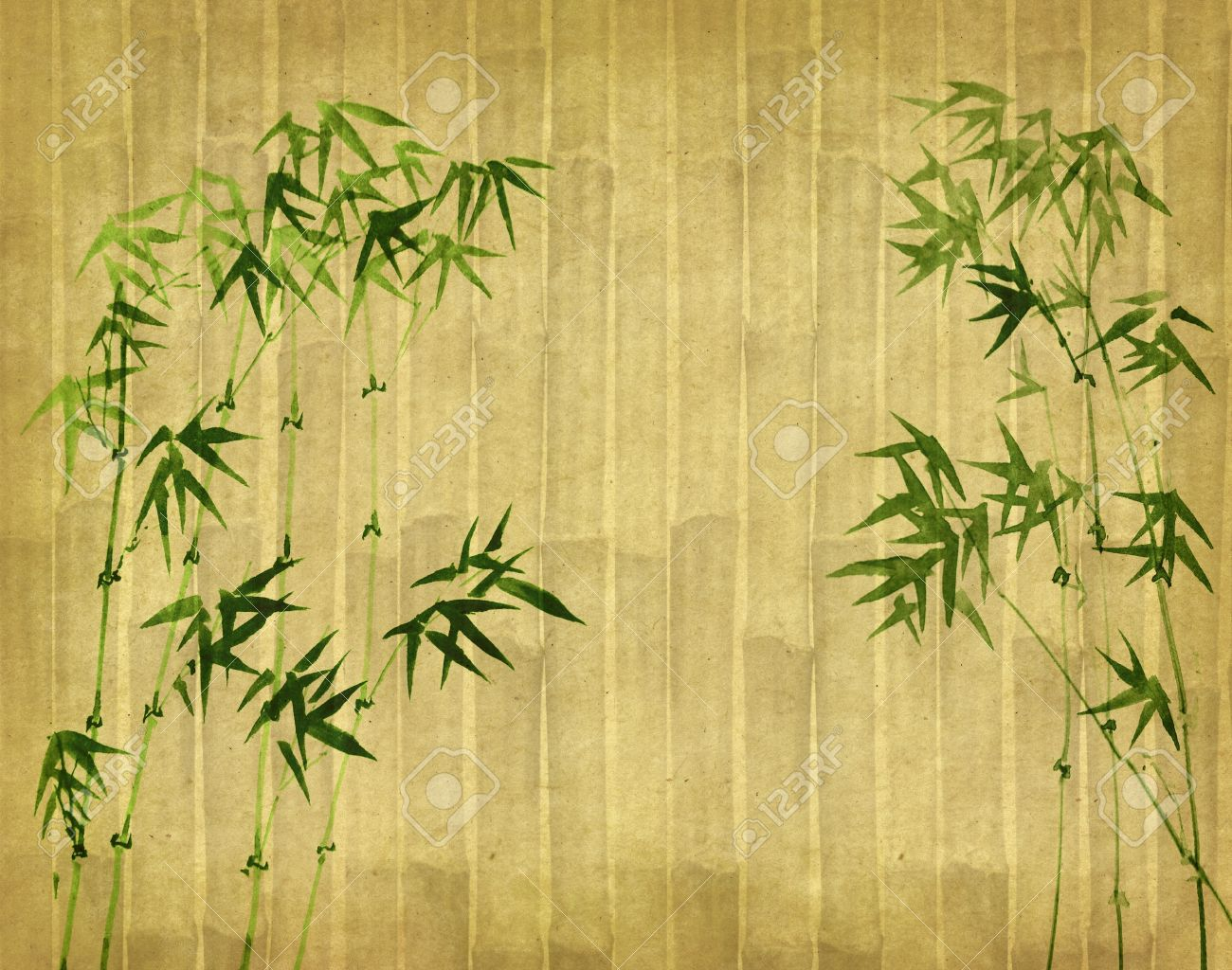 Bamboo Paper Texture Paper Texture Painting