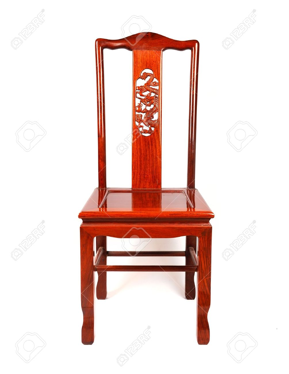 Antique furniture chair - Chinese Antique Ming Style Furniture Chair Made From Elm Wood Stock Photo 13303782
