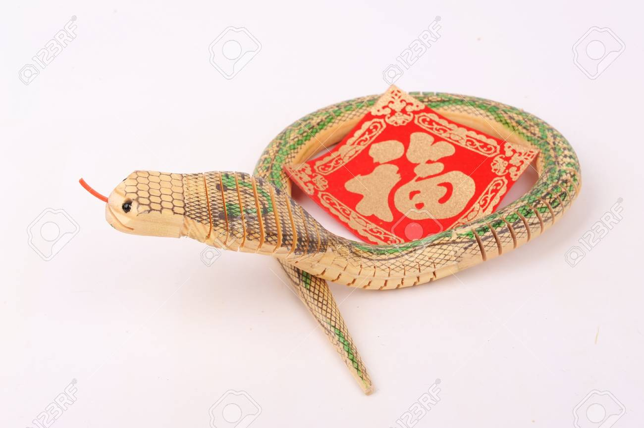 year of the snake Stock Photo - 17041951