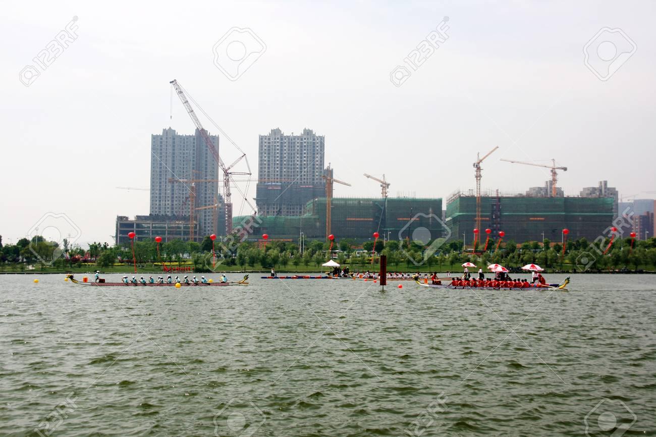 白鳥の湖、安徽省合肥市 ロイヤ...
