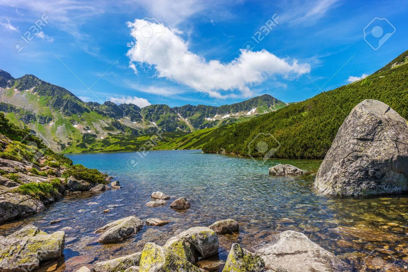 Tatry, Dolina Pi?ciu Stawów Polskich, Pejza? górski - 84413615