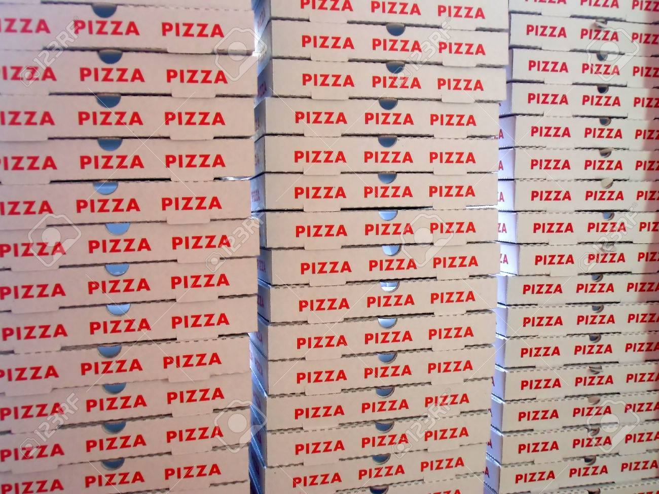 Royalty Stack Free Boxes Image Of Stock Pizza Image 25923313 Photo And Picture