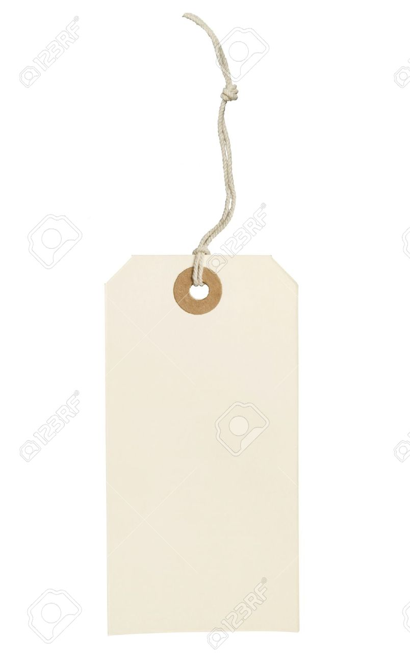 Label (tag) Isolated On White Background Stock Photo, Picture And ...