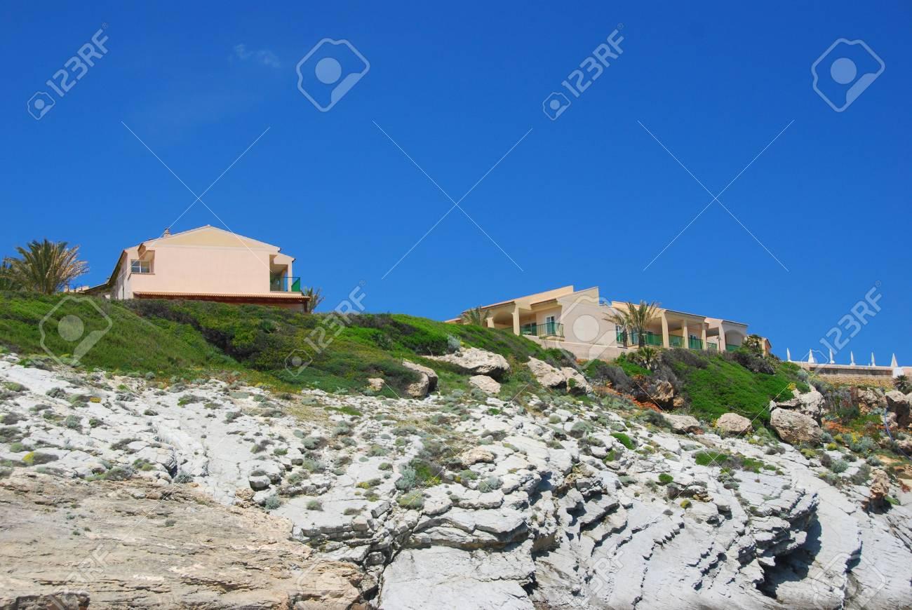 houses on the beach of the island mallorca Stock Photo - 3792401