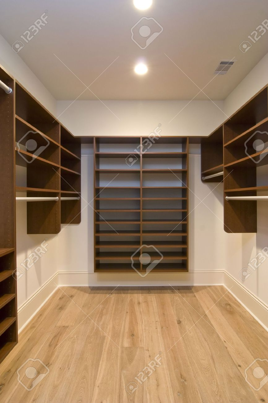 empty walk in closet royalty free large empty walkin closet with wood shelving stock photo 2646584 large empty walkin closet with wood shelving photo picture
