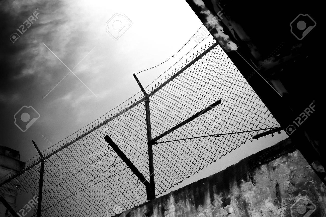 Cell Block A at Alcatraz Island Prison, USA, Stock Photo - 18567183