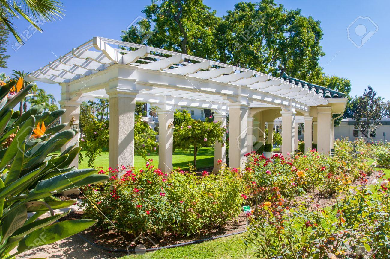 Pasadena Ca Usa September 29 The Rose Garden At The Tournament