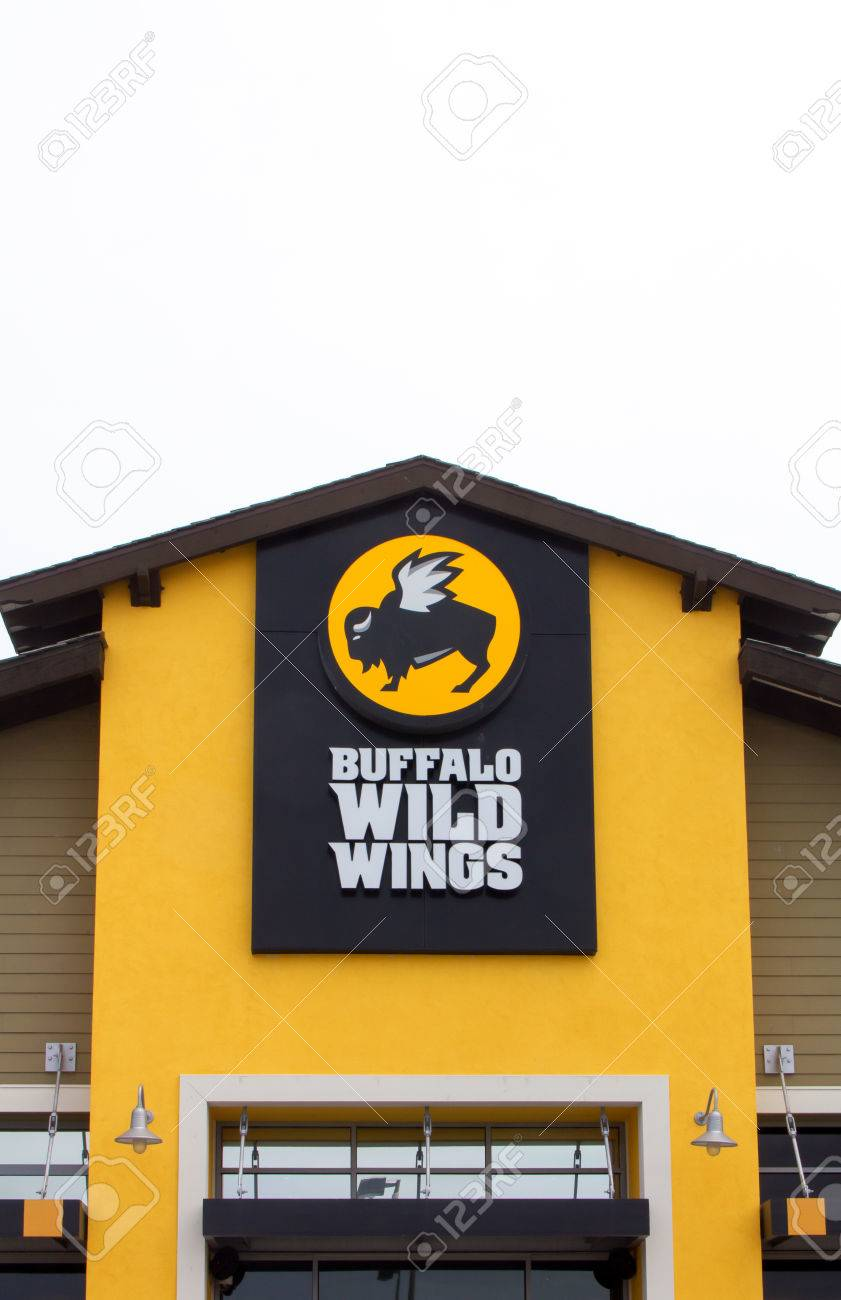 SEASIDE, CA/USA - MAY 8, 2014: Buffalo Wild Wings Restaurant ...