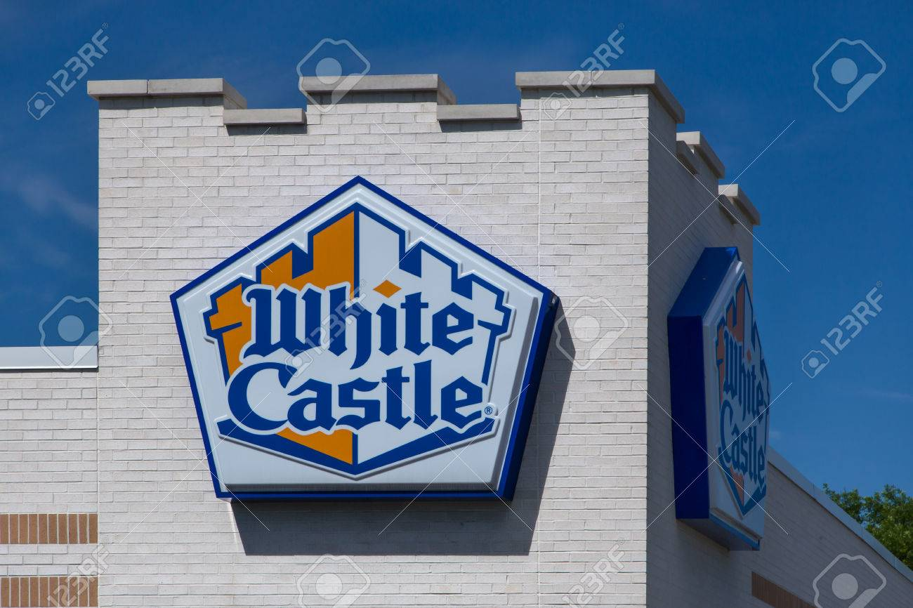 Bloomington Mnusa June 21 2014 White Castle Restuarant Stock