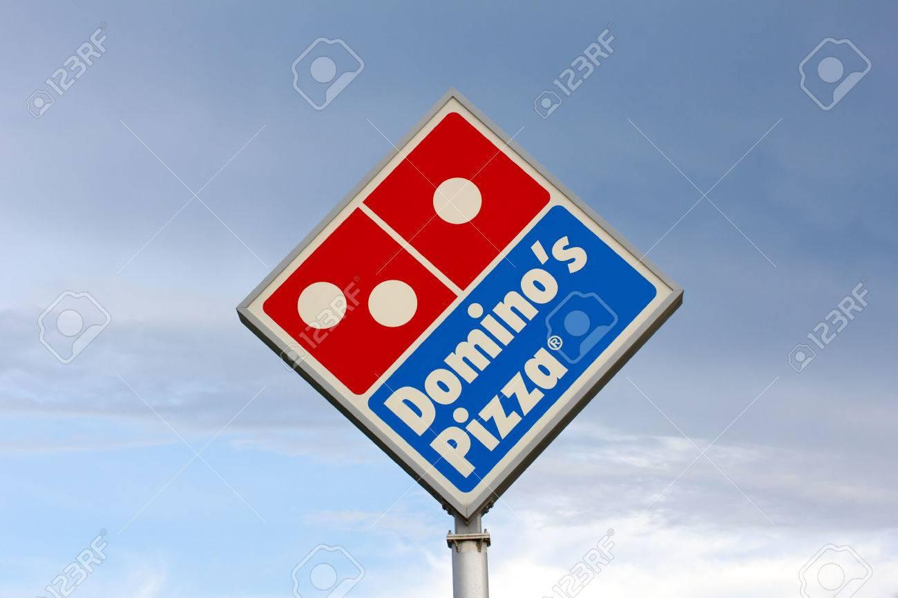 Eau Claire Wiusa June 24 2014 Dominos Pizza Restaurant
