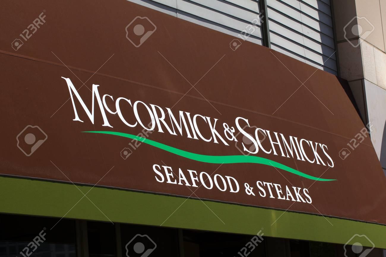 San Jose Ca Usa May 11 2014 Mccormick Schmick S Seafood