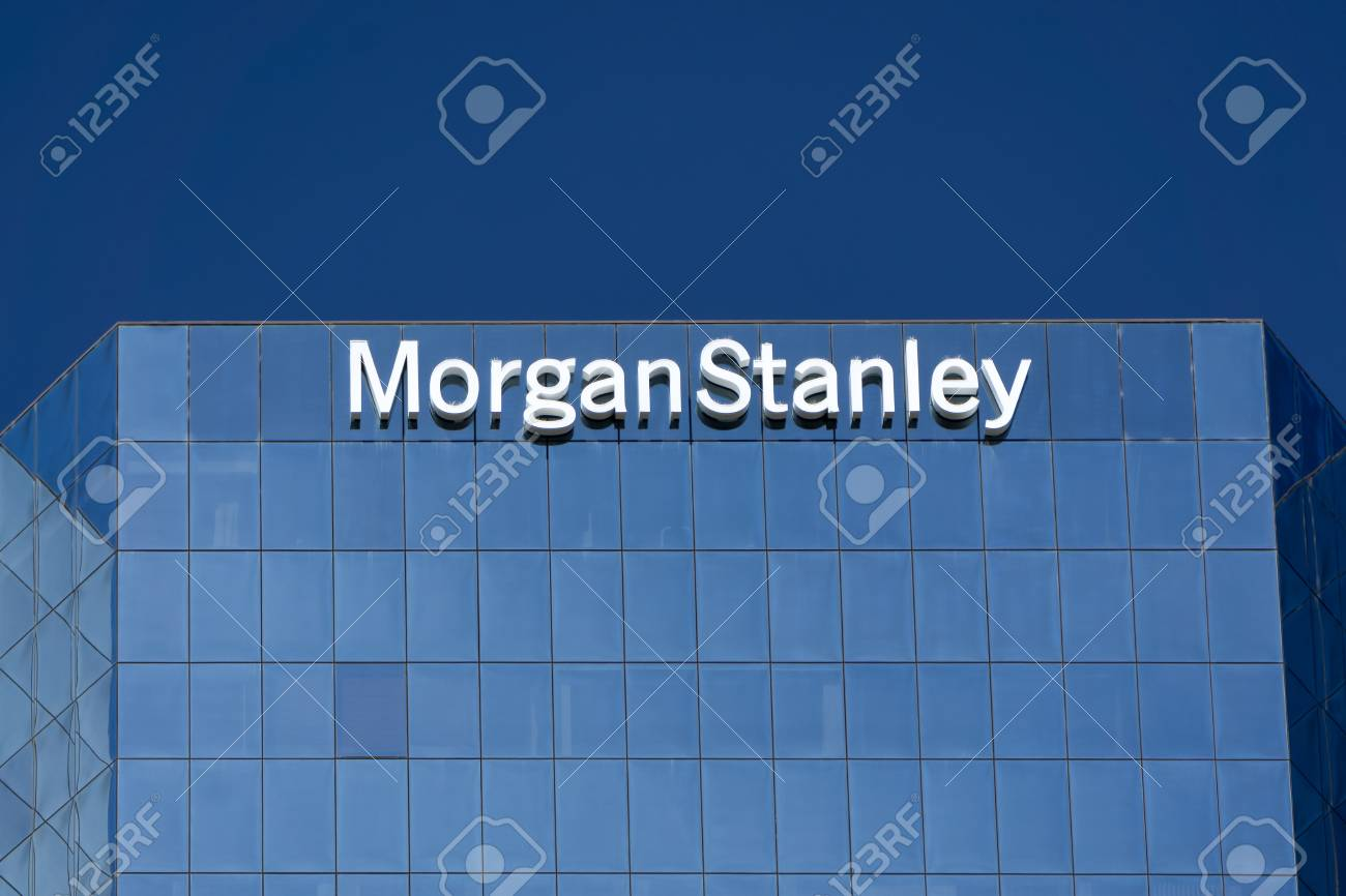 LOS ANGELES, CA/USA - JULY 11, 2015: Morgan Stanely building