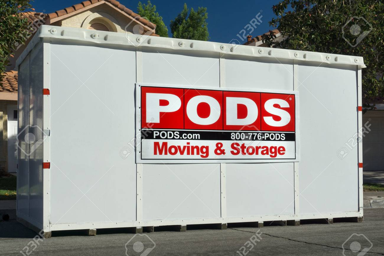 Pods Moving And Storage >> Canyon Country Ca Usa October 31 2015 Pods Moving And Storage