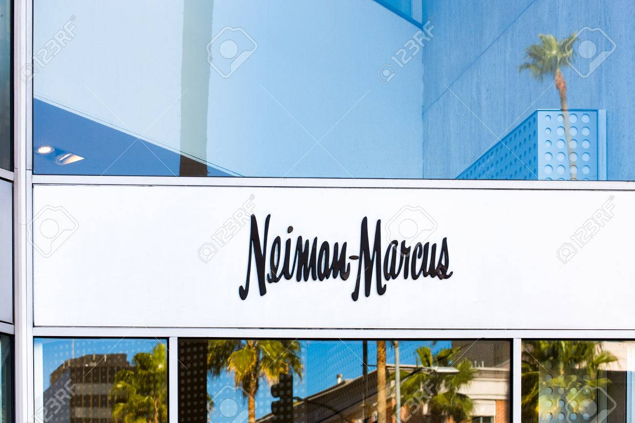 LOS ANGELES, CA/USA - NOVEMBER 11, 2015: Neiman Marcus store