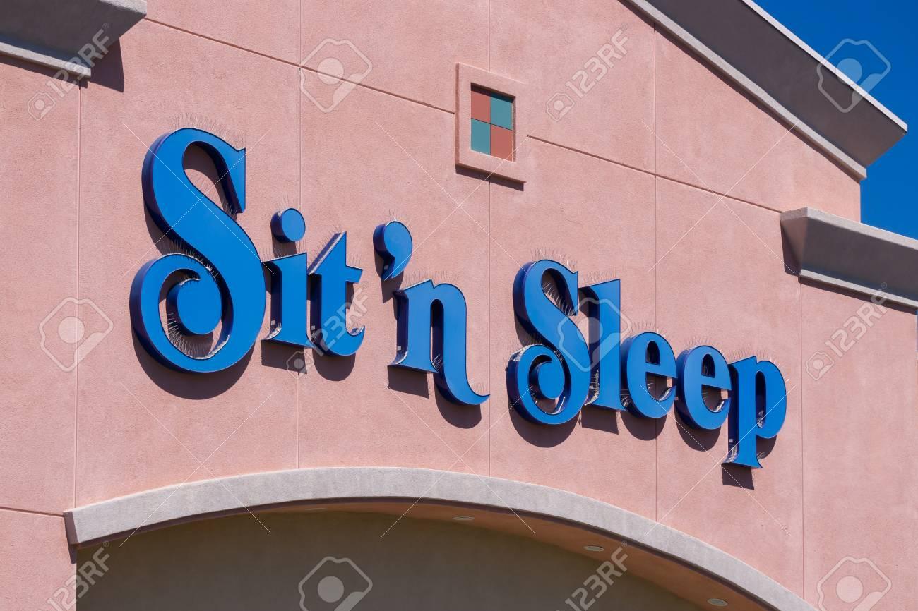 Palmdale Causa April 23 2016 Sit N Sleep Retail Store Stock