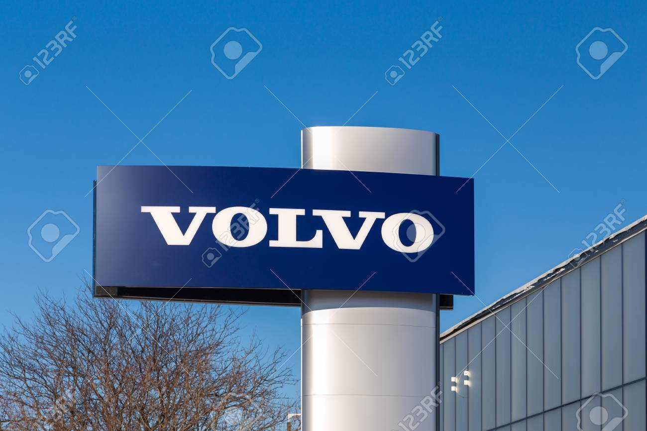 Minneapolis Mn Usa January 14 2017 Volvo Automobile Dealership