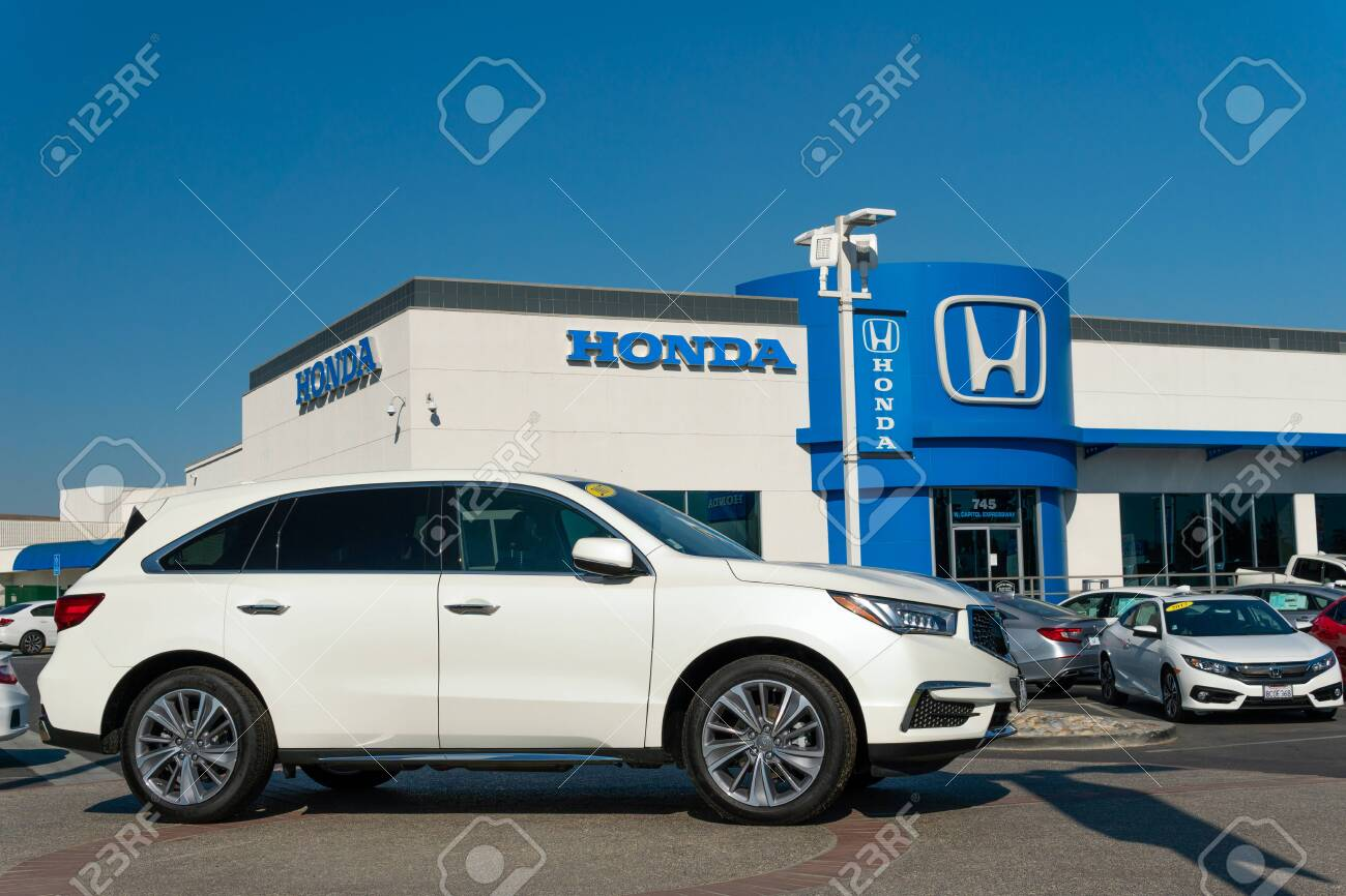 Honda Dealer San Jose >> San Jose Ca Usa October 20 2018 Honda Autombile Dealership