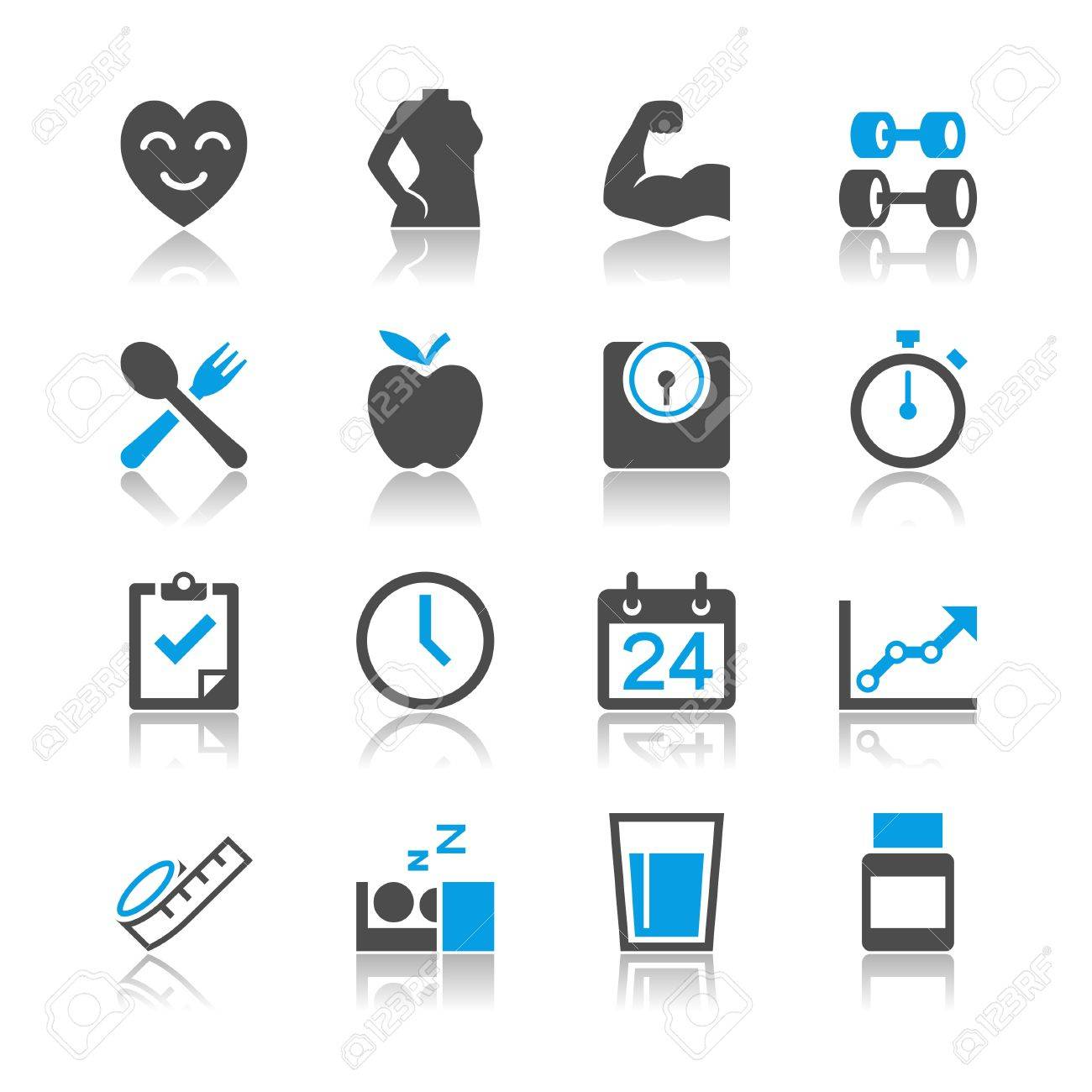 Simple vector icons. Clear and sharp. Easy to resize. EPS10 file contains opacity masks. Stock Vector - 21212103