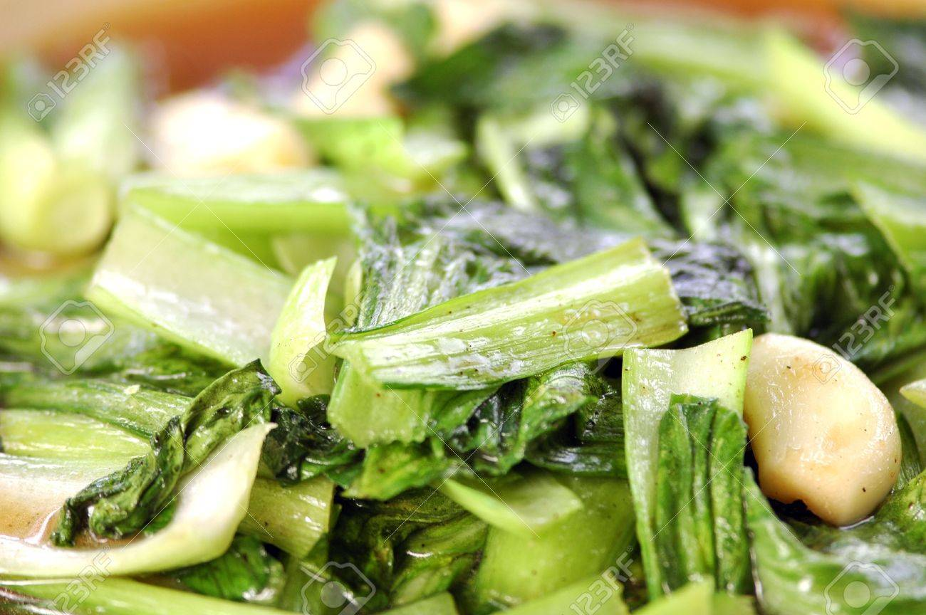 Bok Choy (Pak Choi)    This graceful vegetable with Chinese origins has spread throughout Asia and beyond Banque d'images - 8034445