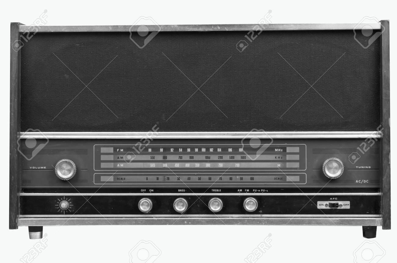Old radio Stock Photo - 12662818