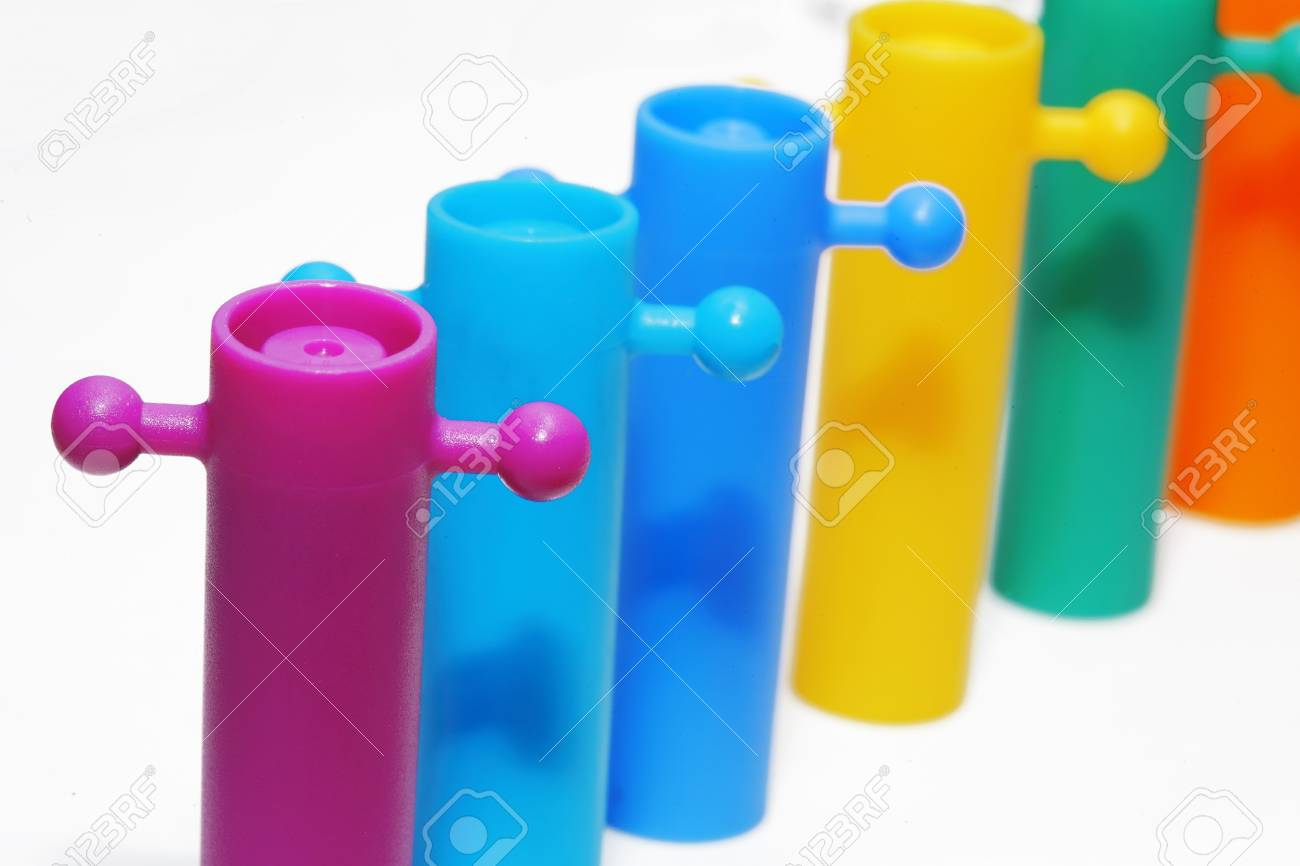 Color full toy on white background. Stock Photo - 19079538