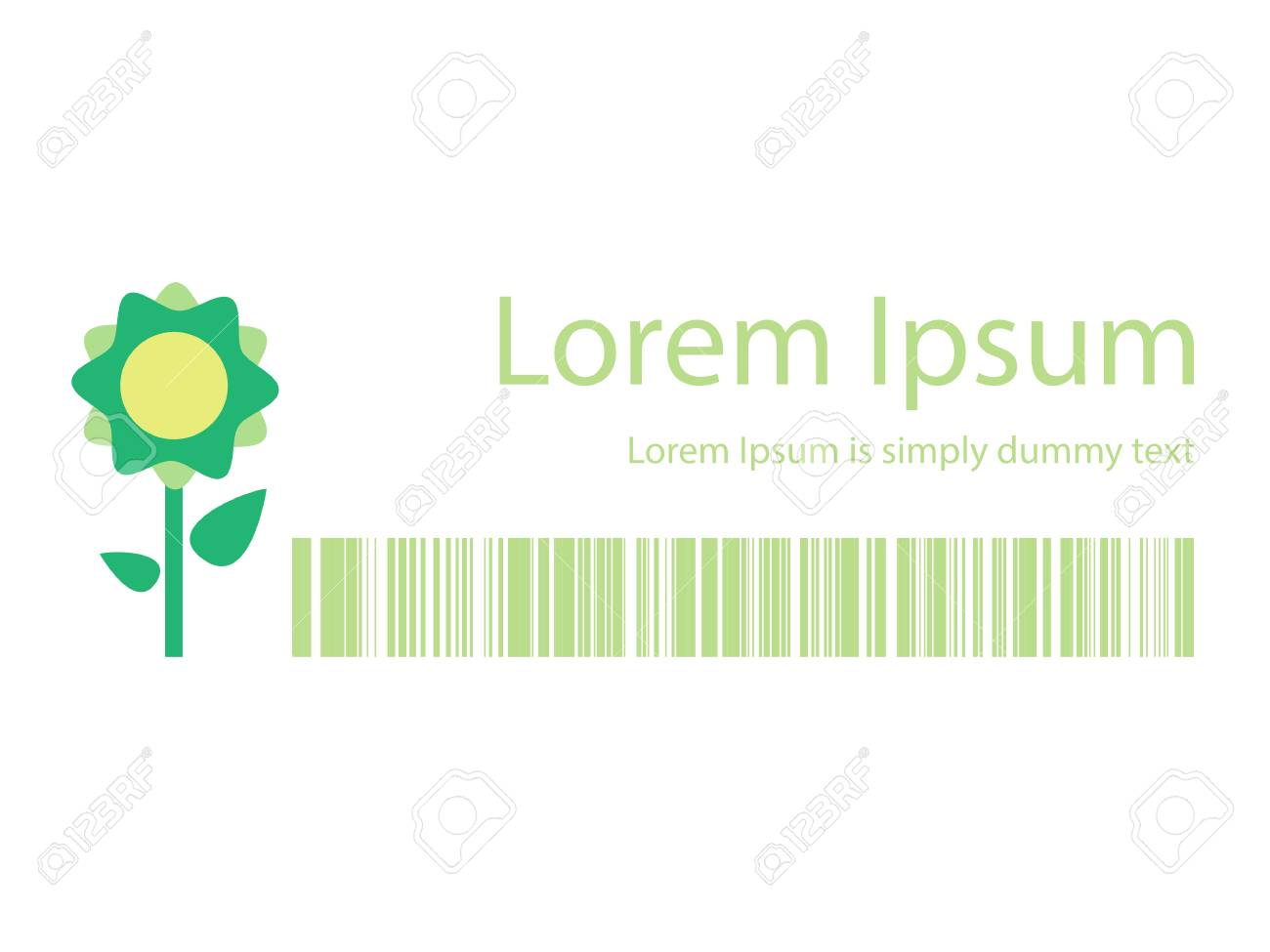 Marketing Banners With Flower Symbol For Your Designvector