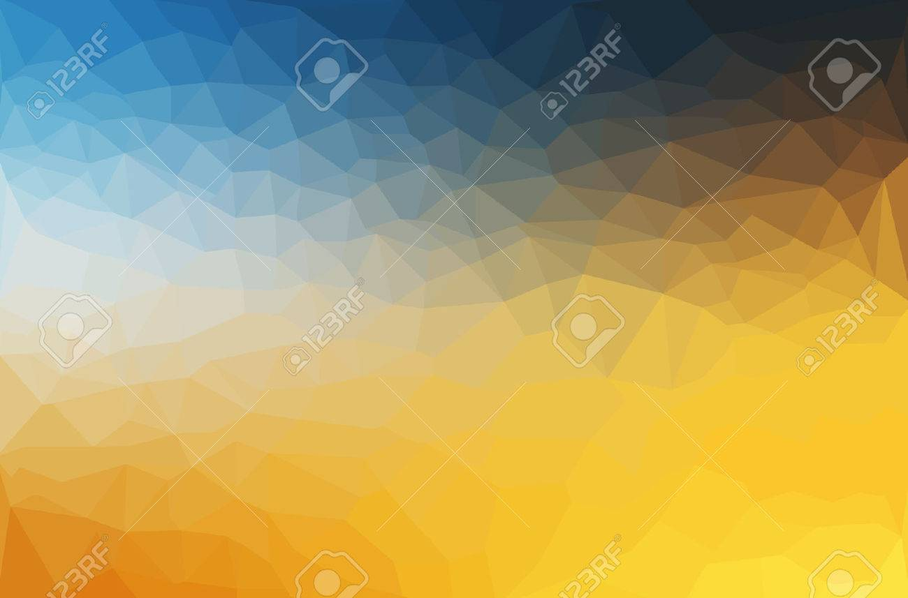 Abstract polygon geometric background. Vector and illustration Stock Vector - 44223040