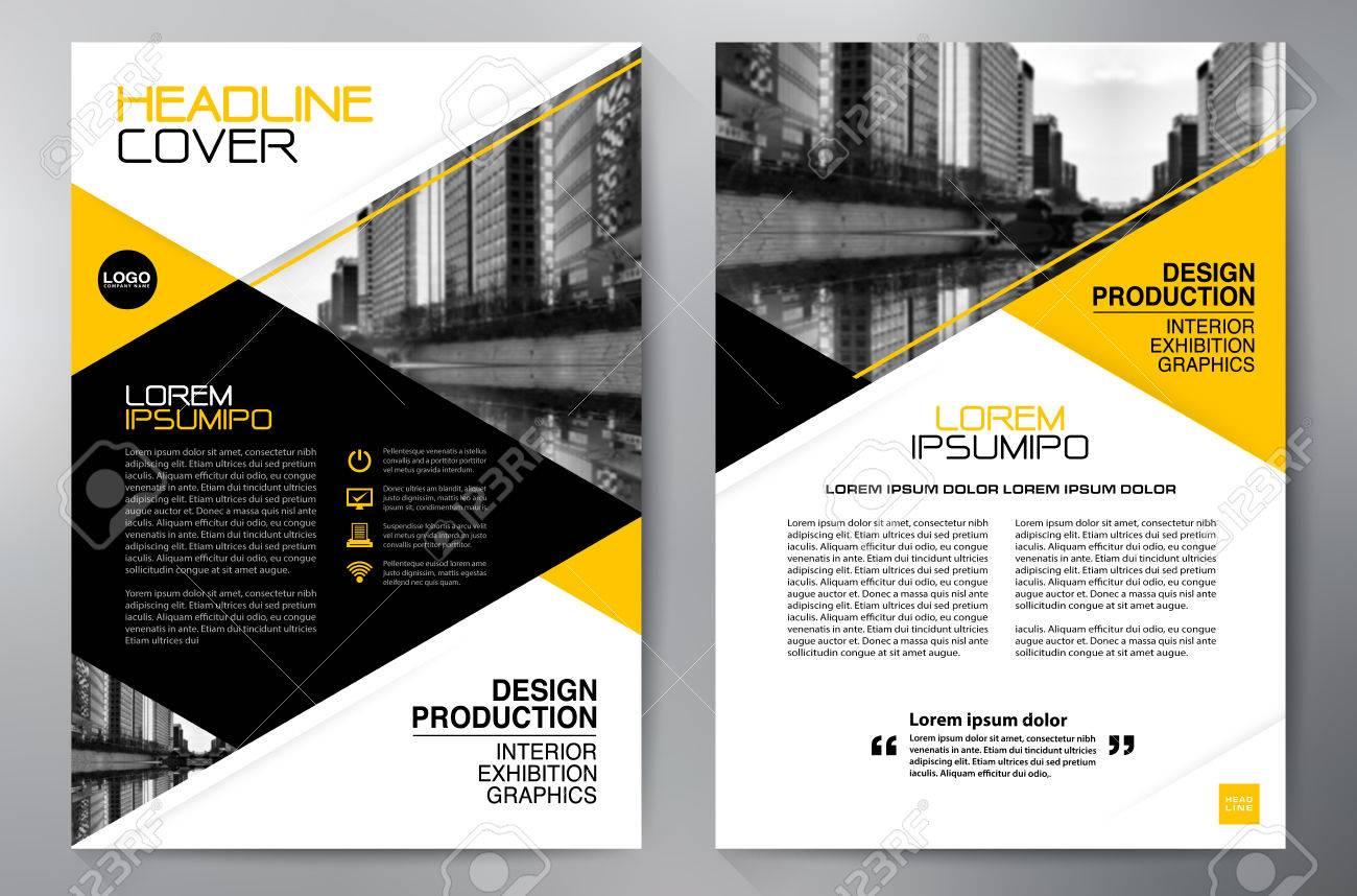 Business brochure design a4 template - 61406250