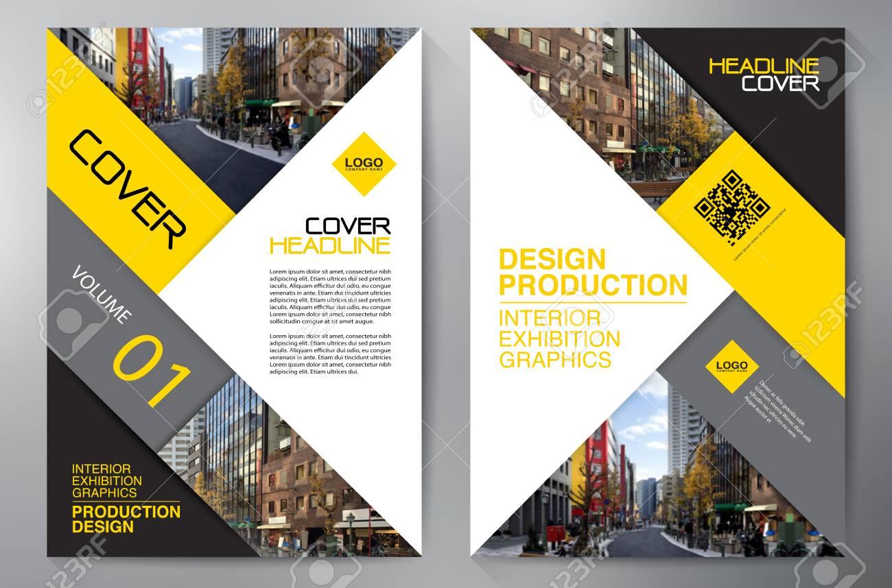 business brochure flyer design leaflets template cover book