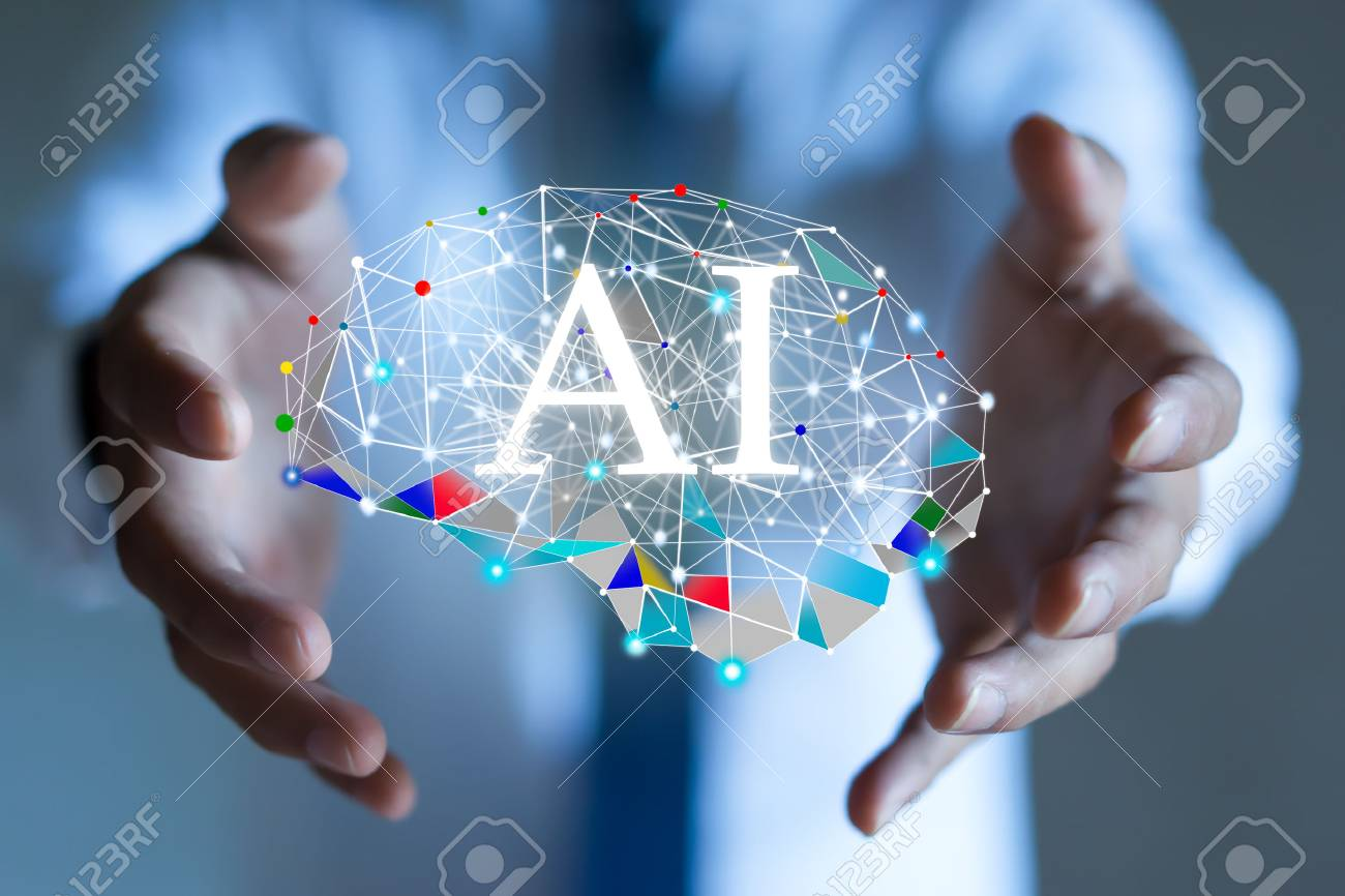 AI(Artificial Intelligence) concept. deep learning. - 95474341