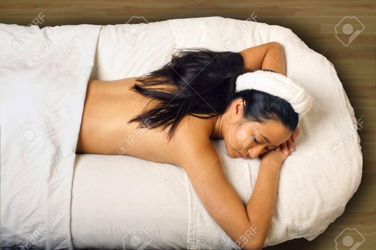 Sensual Massage Stock Photo 695156