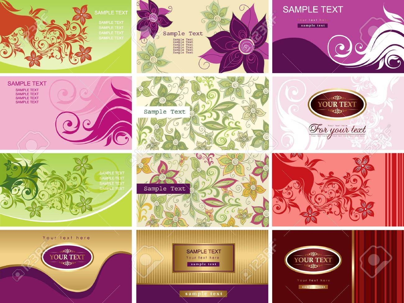 Business card Stock Vector - 9785449