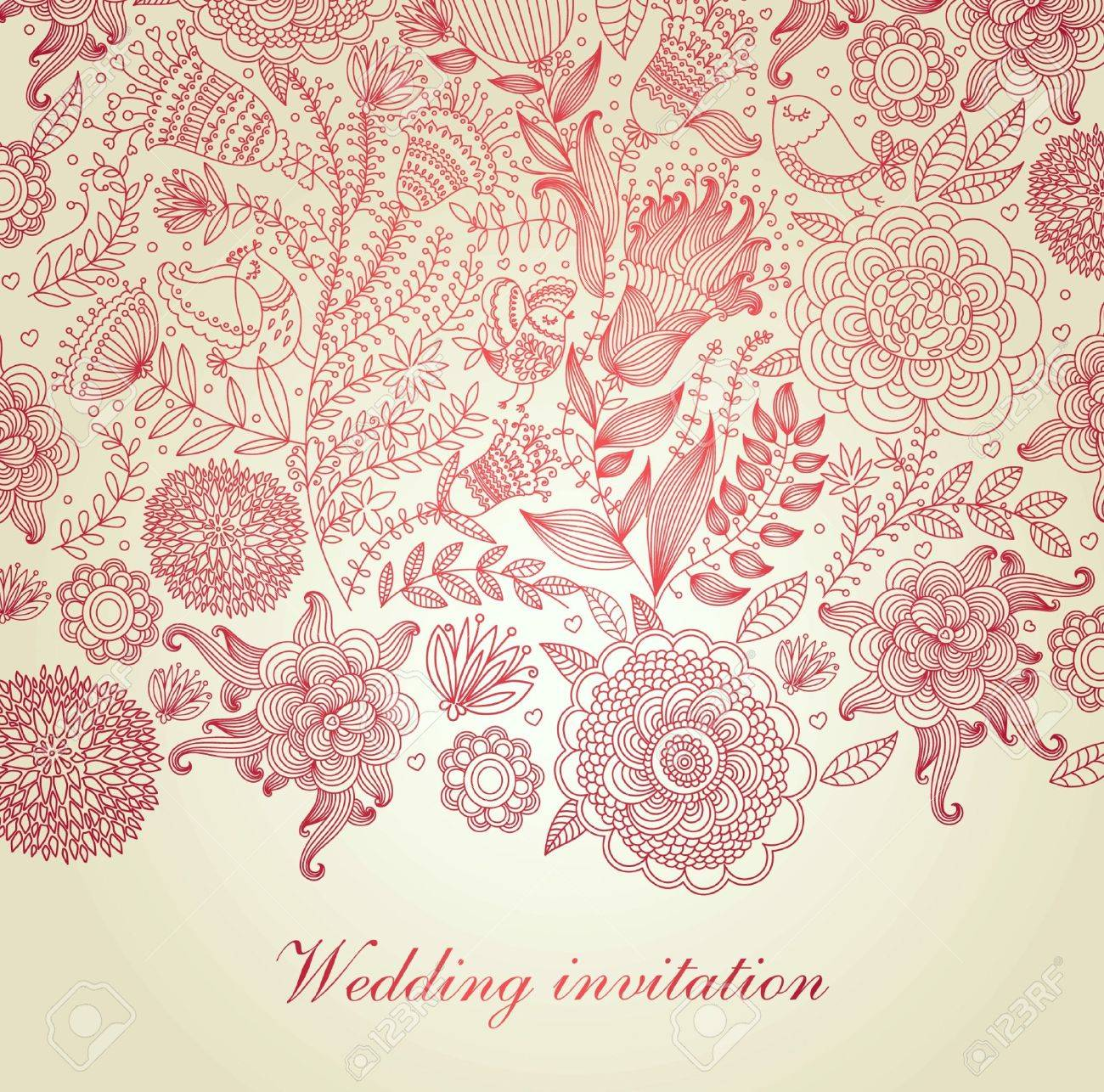 classical wall-paper with a flower pattern Stock Vector - 9791318