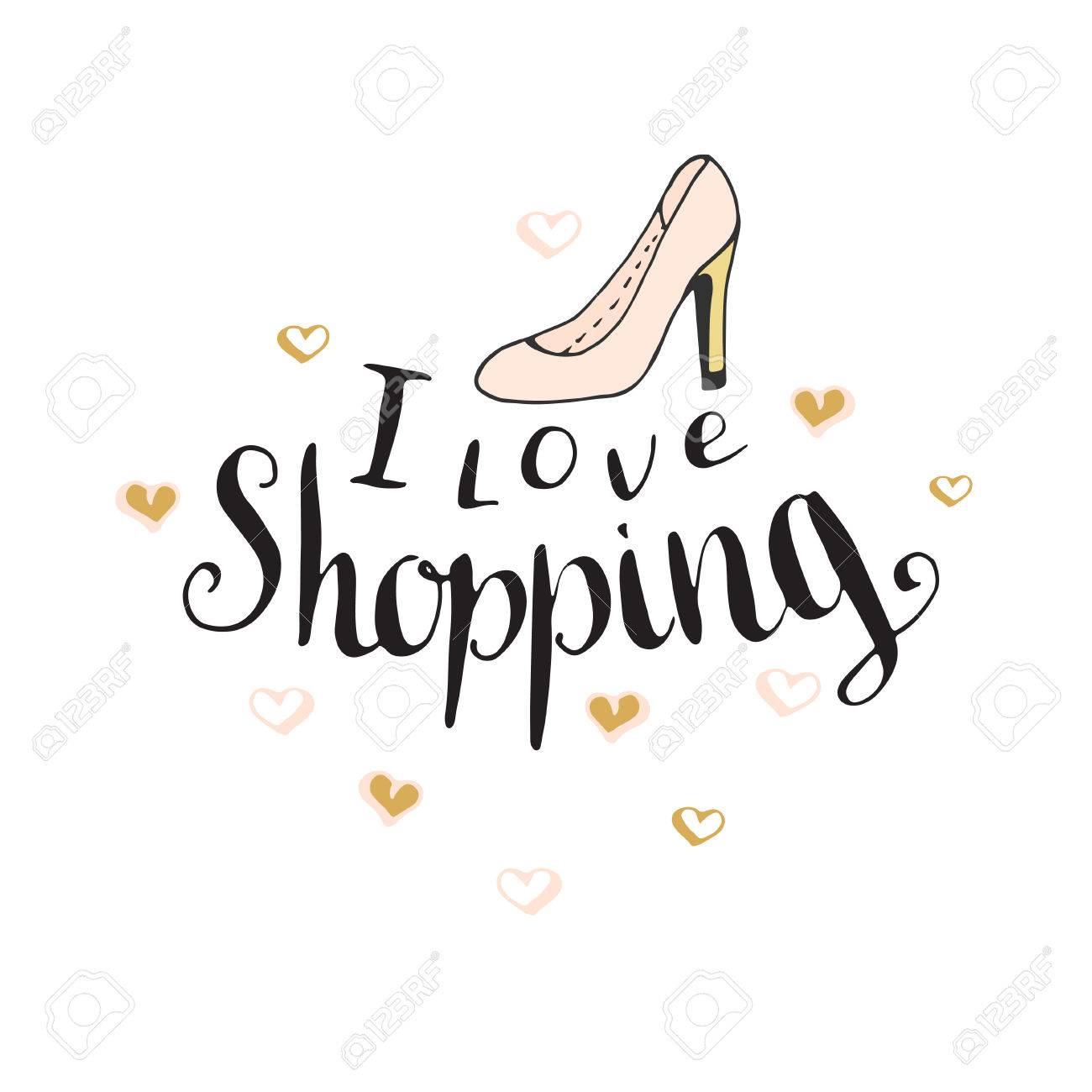 ich gehe shoppen
