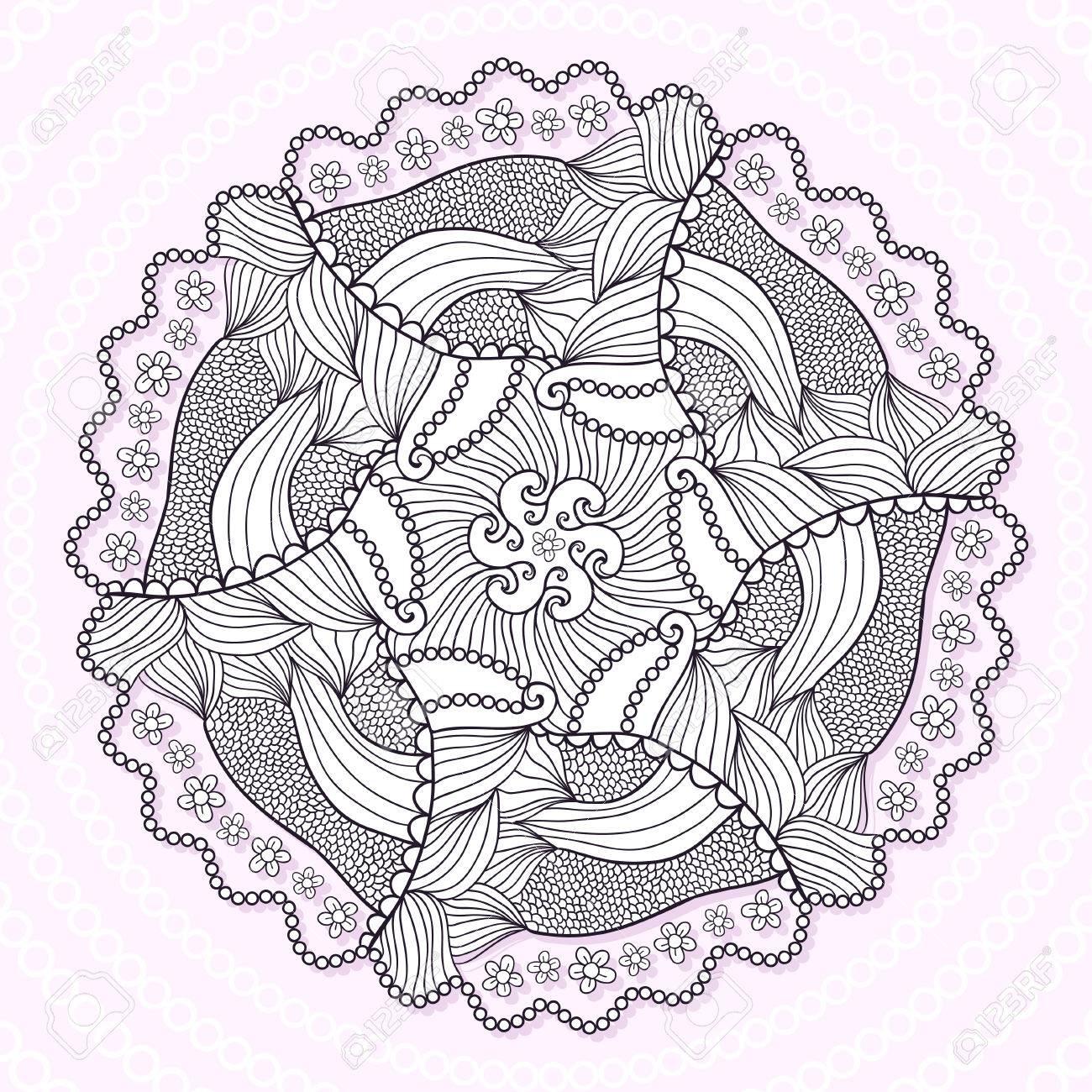 Excepcional Círculo Tiempo Para Colorear Ilustración - Dibujos Para ...