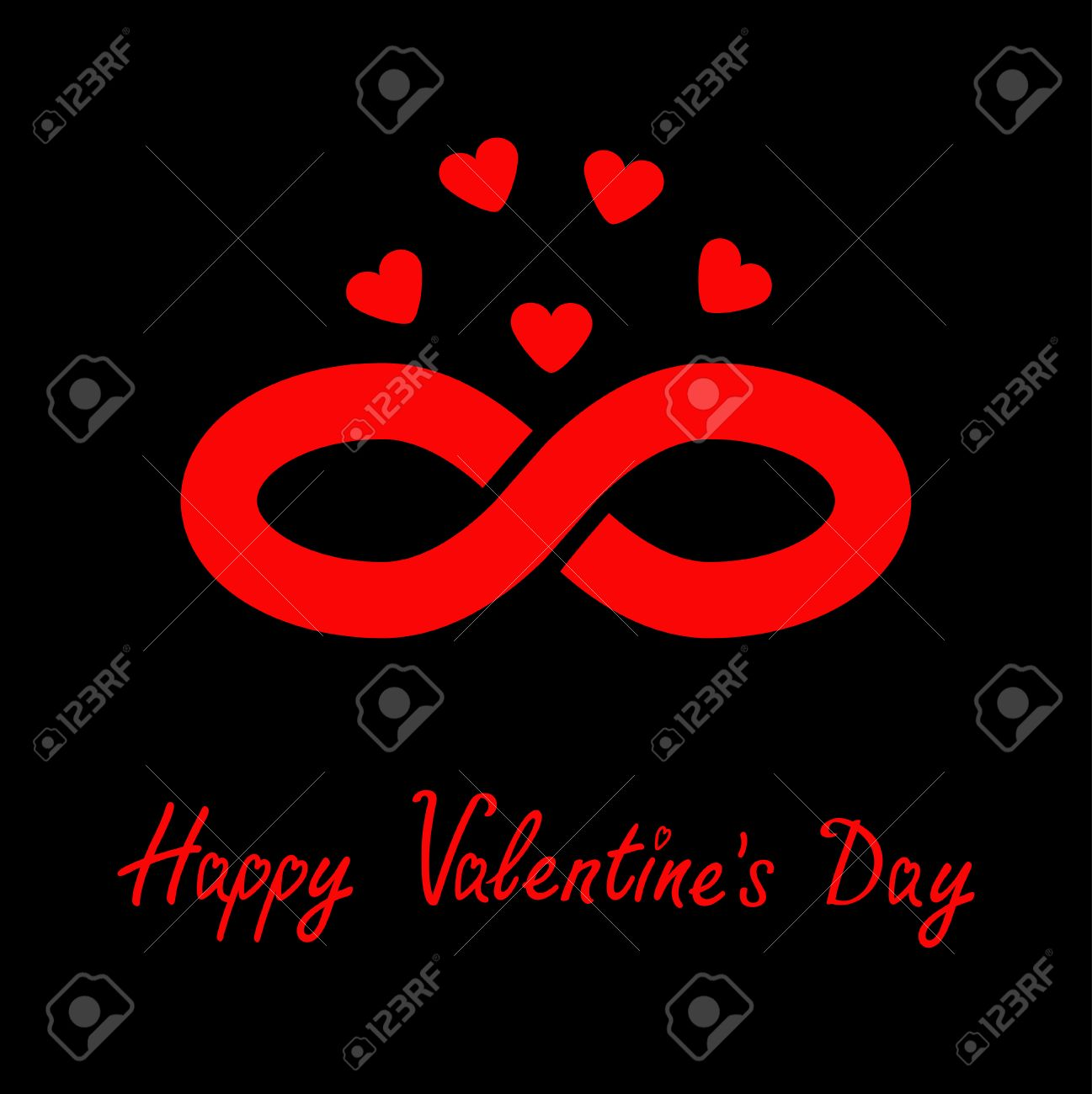 Limitless red sign with heart symbol infinity icon happy limitless red sign with heart symbol infinity icon happy valentines day flat design buycottarizona Gallery