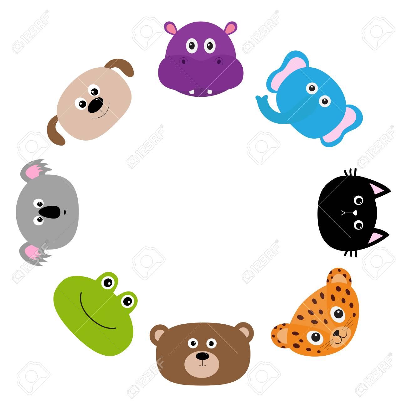 Gato, Jaguar, Perro, Hipopótamo, Elefante, Oso, Rana, Koala. Marco ...