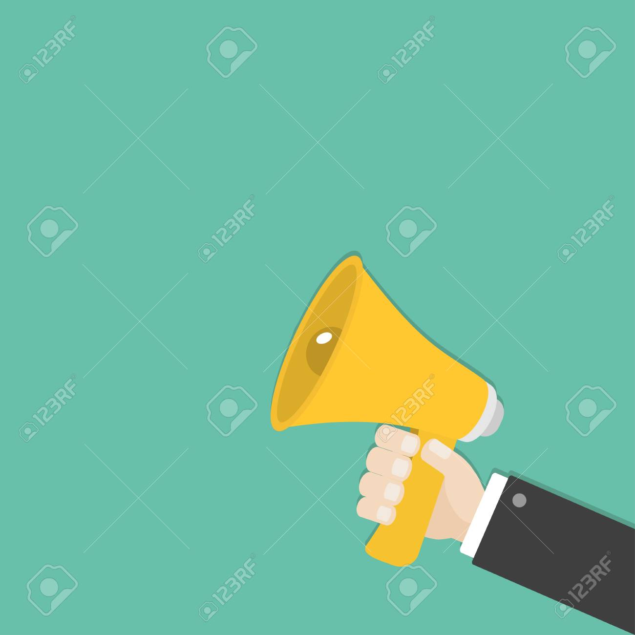 businessman hand holding megaphone speaker loudspeaker icon royalty free cliparts vectors and stock illustration image 80909500 businessman hand holding megaphone speaker loudspeaker icon