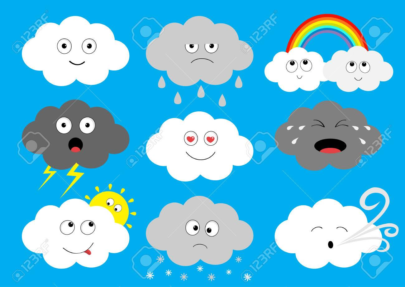 White Dark Cloud Emoji Icon Set Fluffy Clouds Sun Rainbow Royalty Free Cliparts Vectors And Stock Illustration Image 82685687 Emoji meaning a japanese wind chime. white dark cloud emoji icon set fluffy clouds sun rainbow