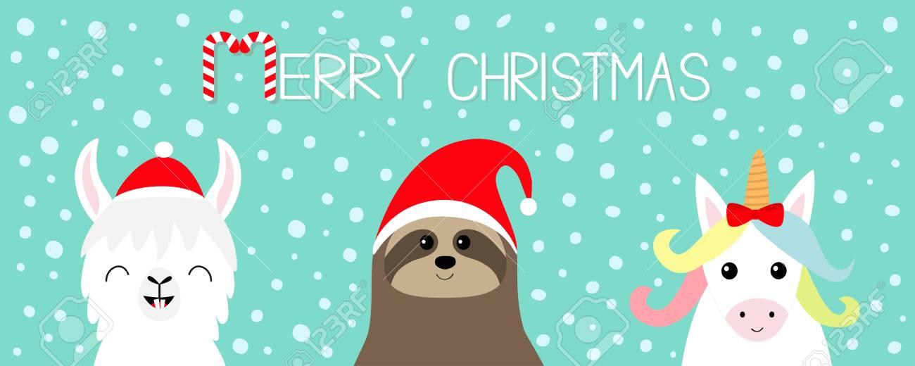 a68d31eb0f5a8 Merry Christmas. Llama Alpaca