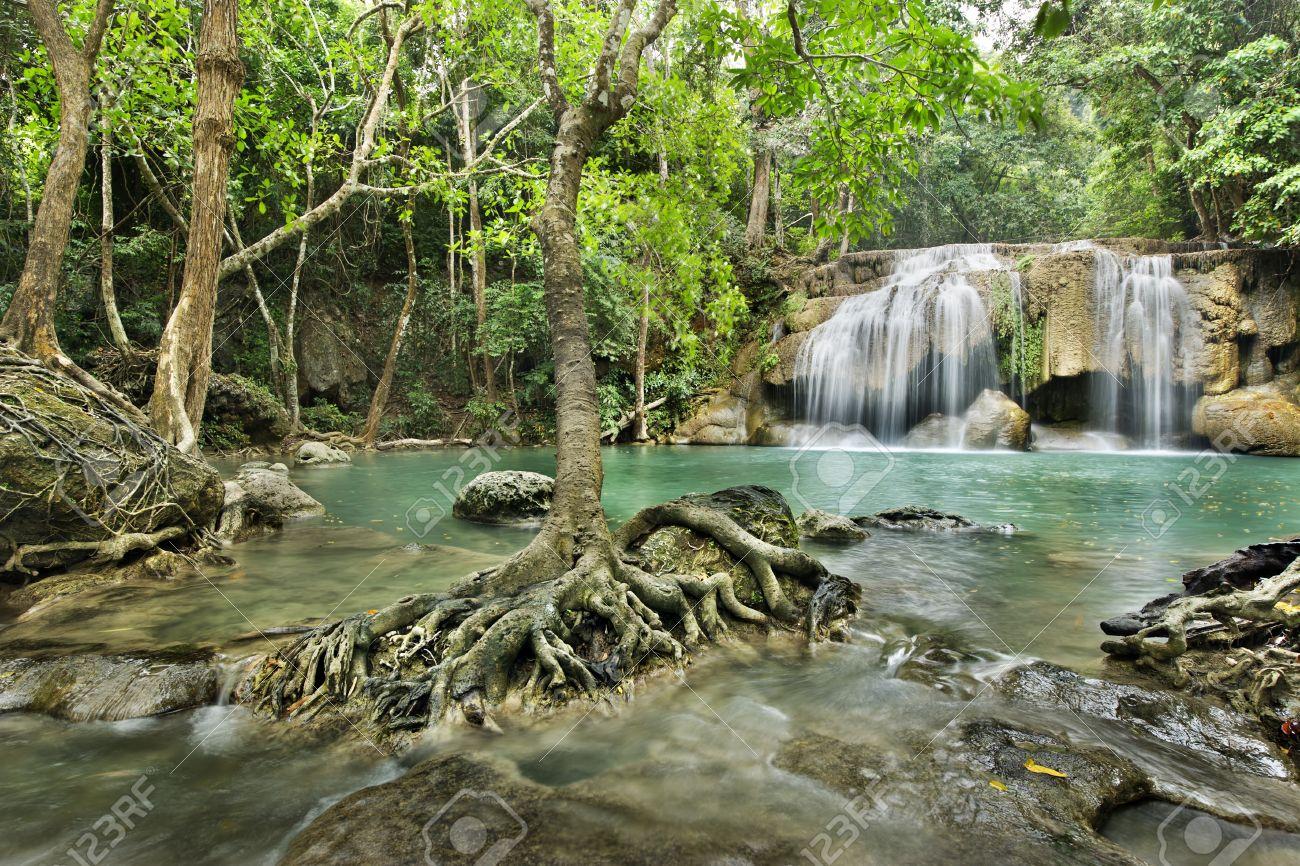 Cascadas de Erawan, Parque Nacional de Erawan