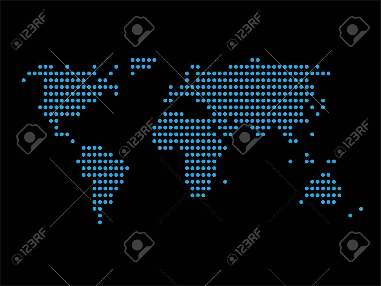 World map black background world distribution business royalty free vector world map black background world distribution business gumiabroncs Images