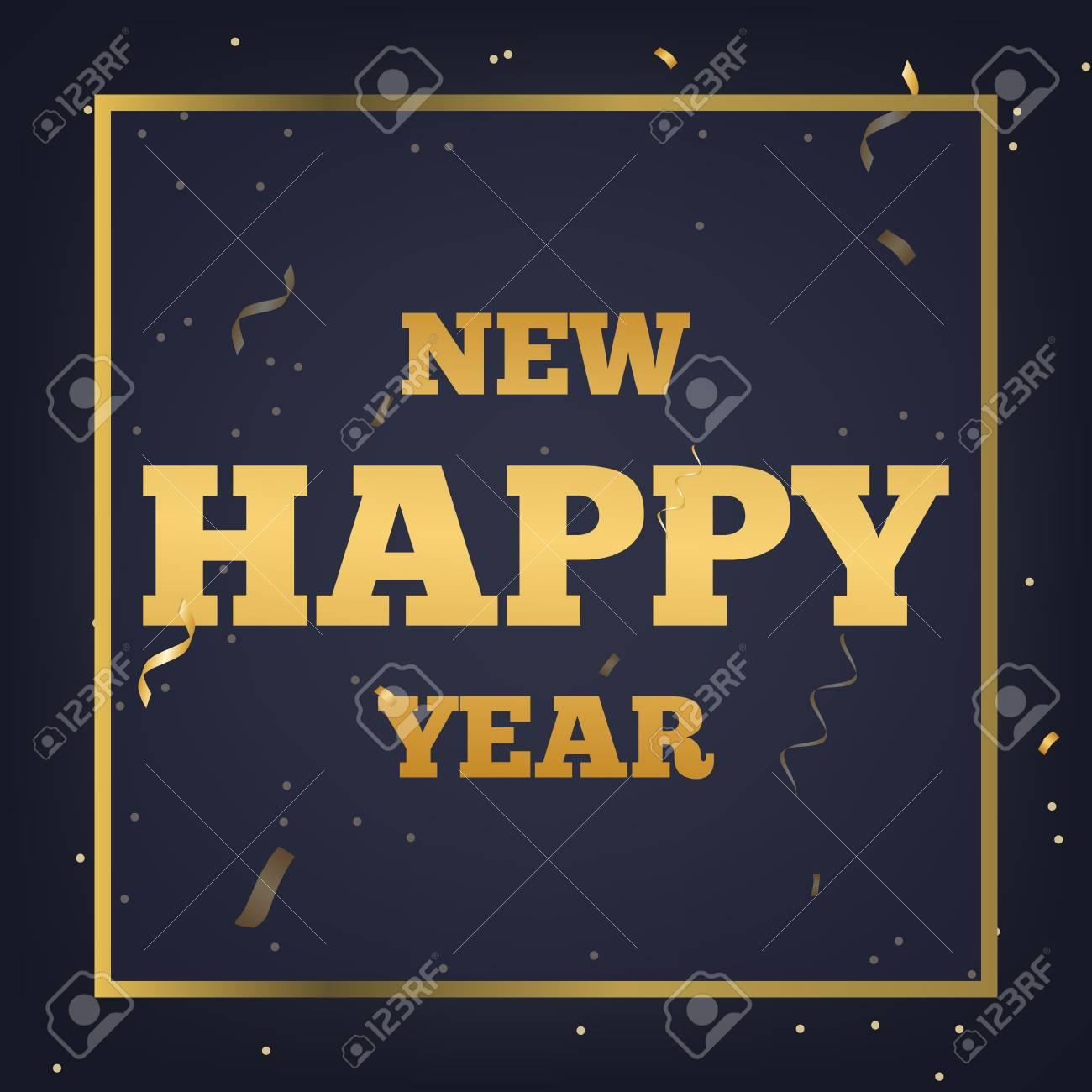 happy new year banner stock vector 92177526
