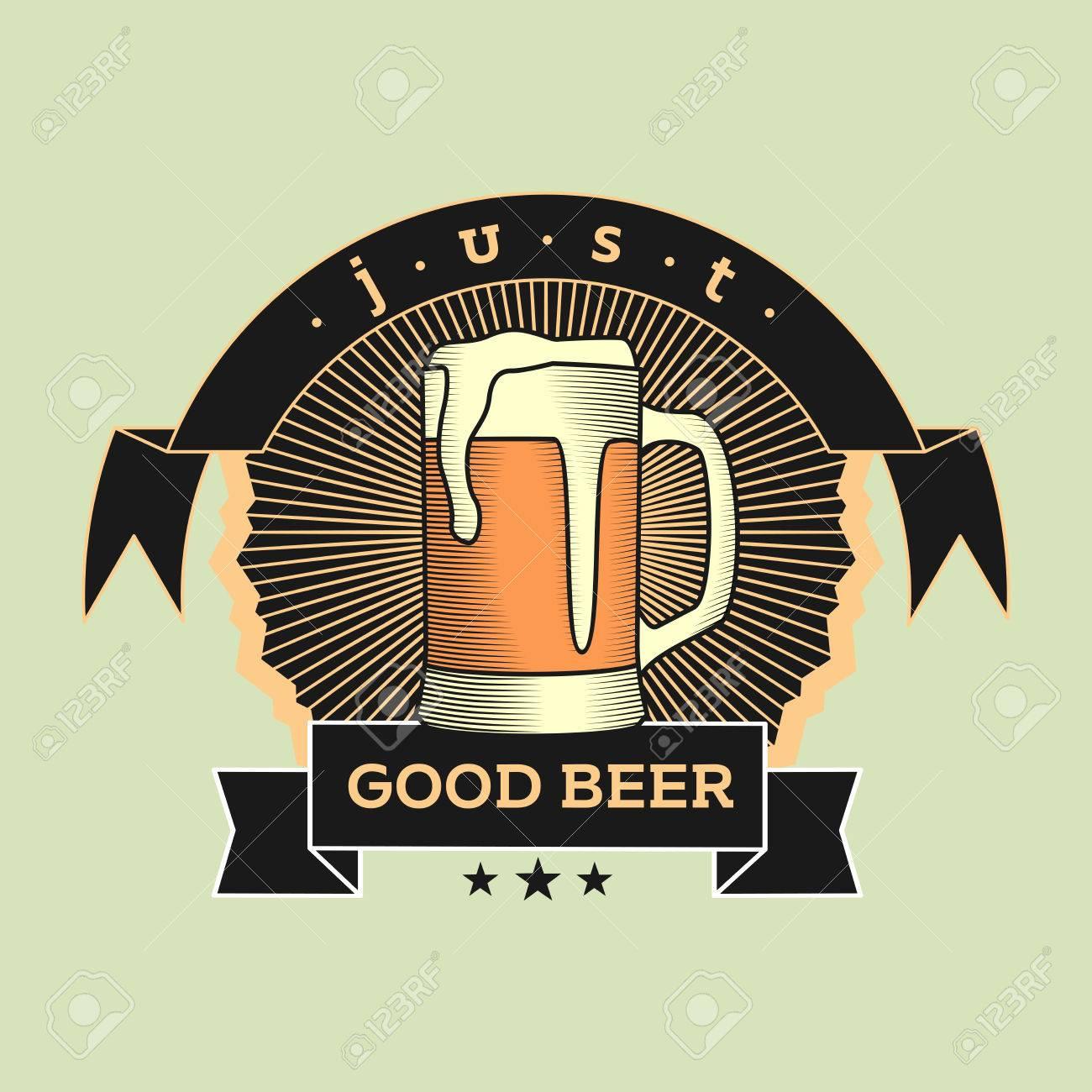 Brew House Vintage Logotype Sur Fond Clair Pour Beer Brewing Company Bar Pub Peut Tre Utilis Concevoir Des Cartes De Visite Affiches