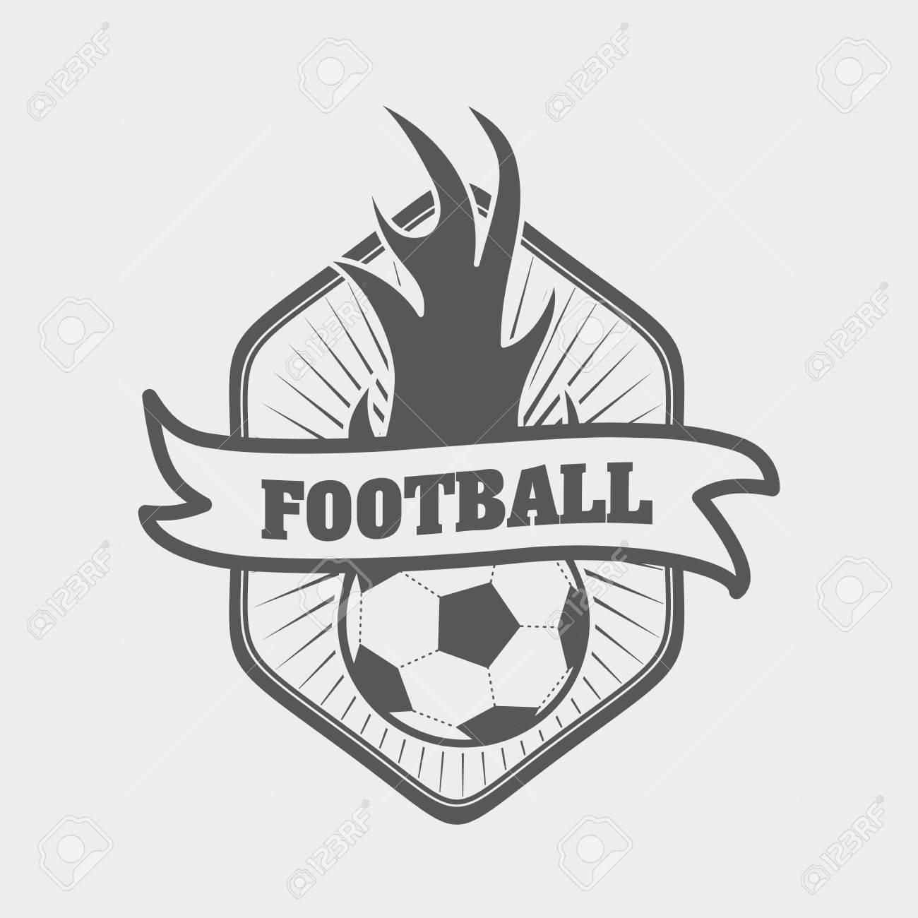 Fútbol O Fútbol, ??plantilla De Etiqueta O Tarjeta De Identificación ...
