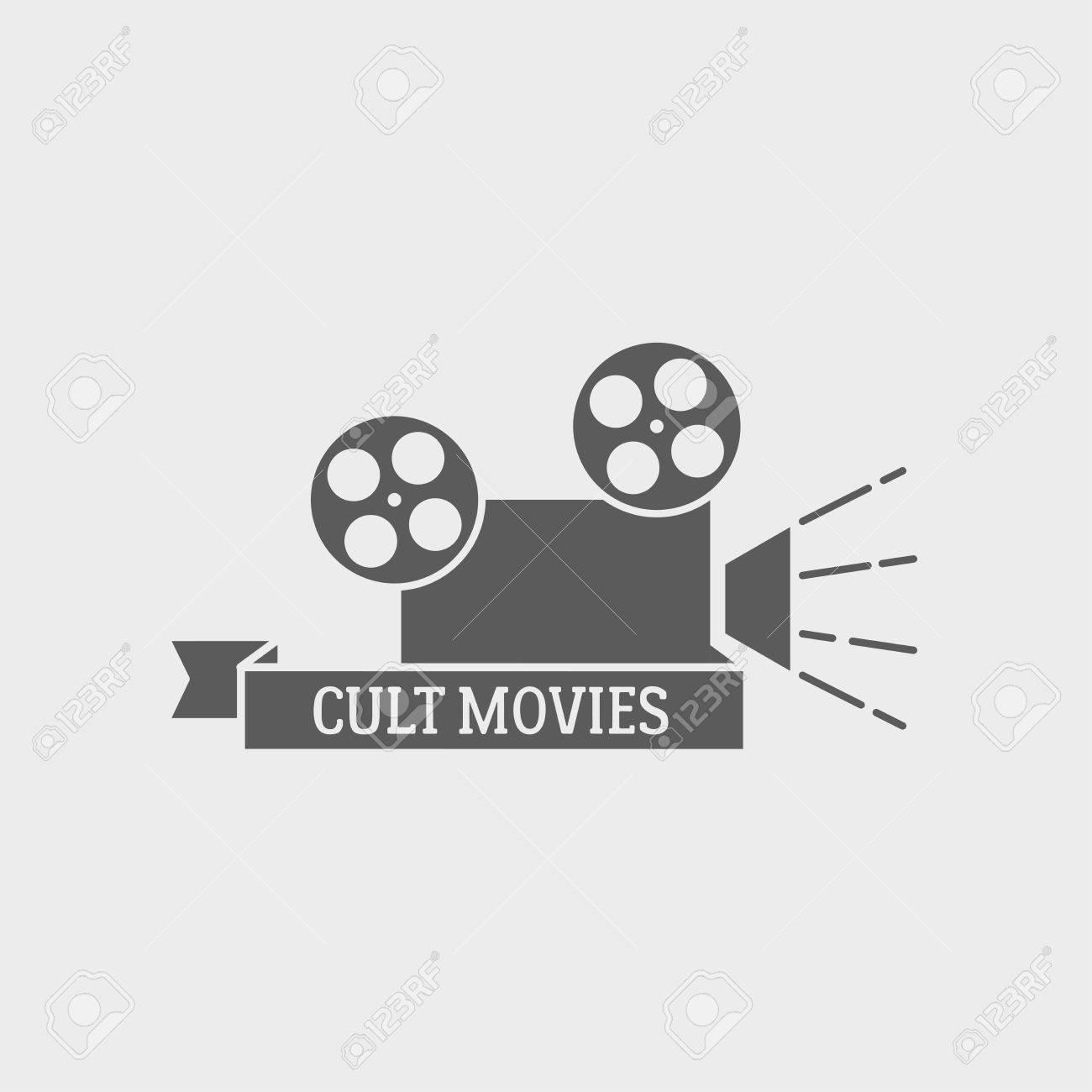 Vector De Cine, Tarjeta De Identificación O Etiqueta De Plantilla De ...