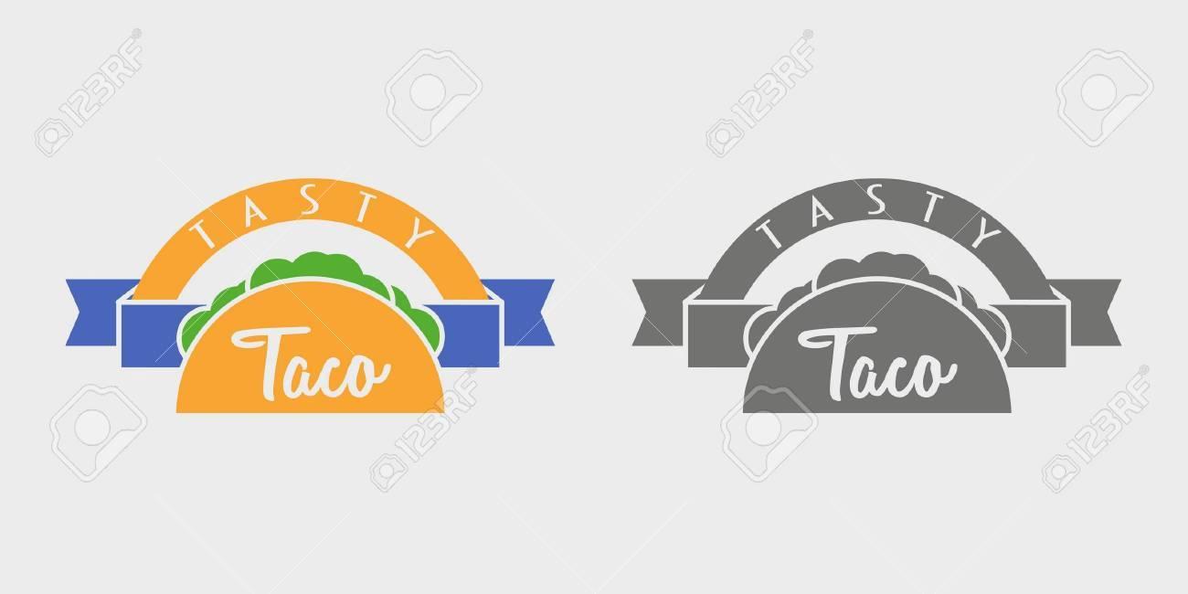 Concept De Logotype Taco Ou Modle Lillustration Peut Tre