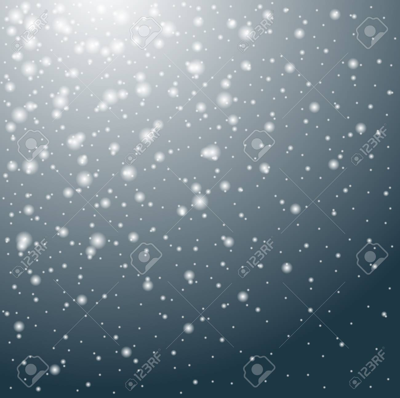 Sfondo neve che scende